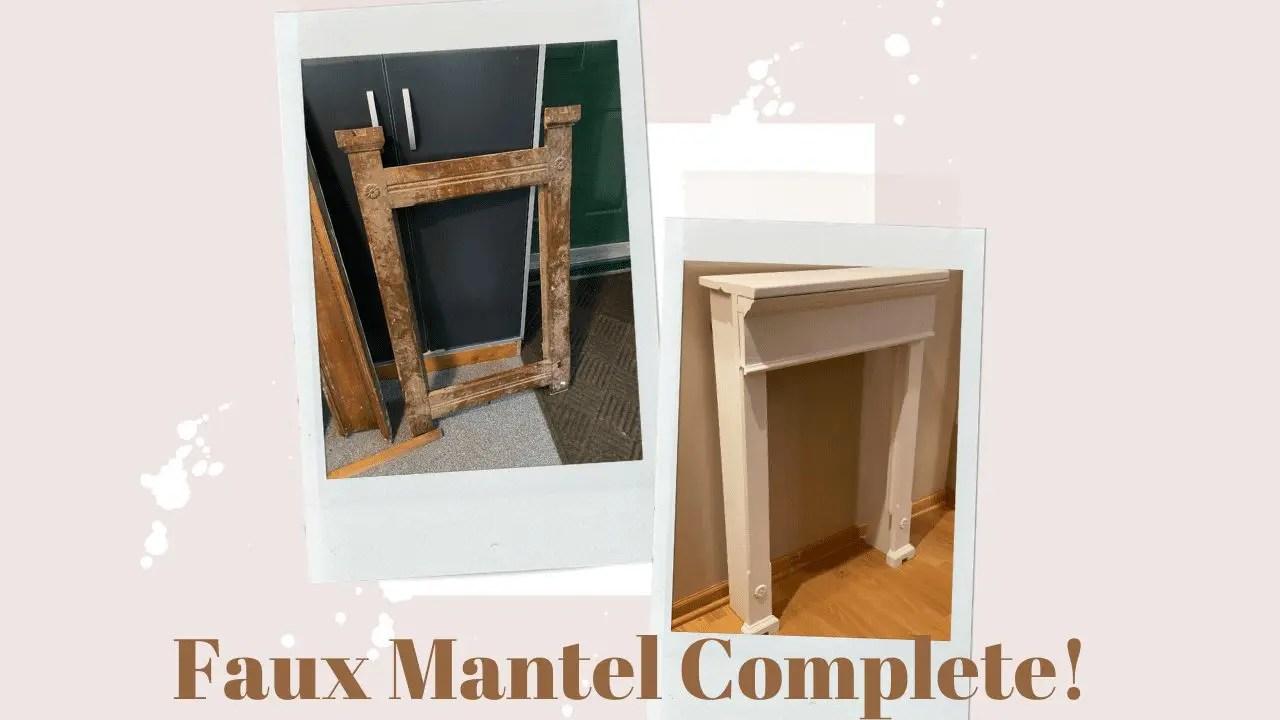 Faux Mantle Complete!