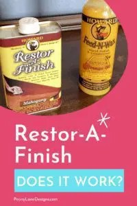 Does Restor-A-Finish Really Work