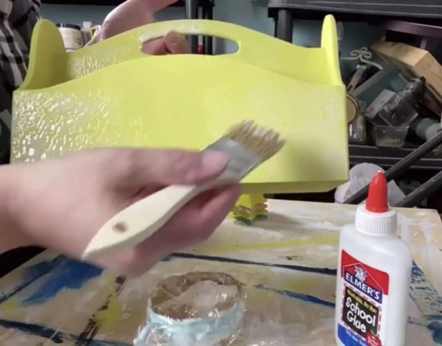 crackle paint finish