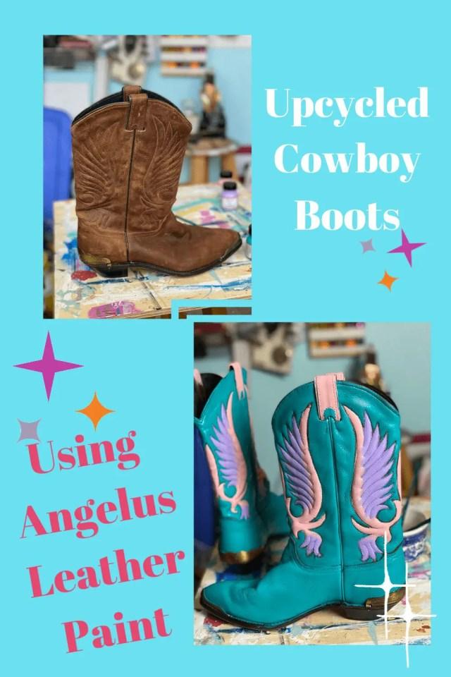 Angelus Leather Paint // Upcycled Fashion // clothing diy // fashion diy // thrifted style // diy clothing // thrifted fashion // upcycle clothes // upcycled clothing diy // paint leather furniture // diy leather projects // leather projects ideas