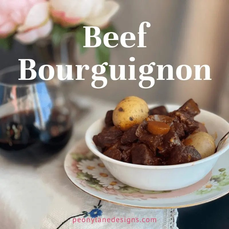 Beef Bourguignon Slow Cooked Step by Step