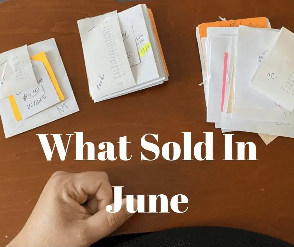 Reselling Revealed What Sold In June