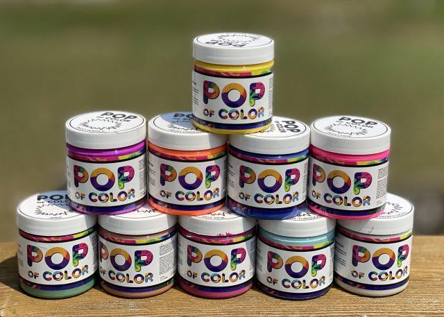Pop of Color Paints 4 oz Samples