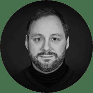 Michael Kunz Poträtfoto schwarz weiß - Fotograf bei People-Pictures