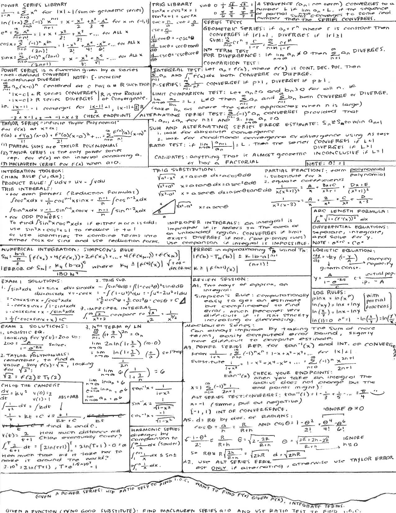 Calculus and Note on Pinterest