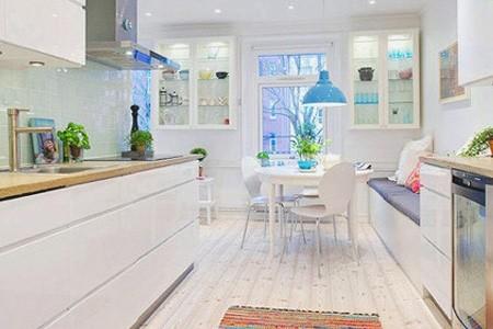 small space kitchen pre cut granite countertops 拓展空间下厨房 小空间厨房设计方案 家居 人民网 拓展空间下厨房小空间厨房设计方案