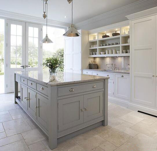 kitchen sink farmhouse wood floors 建一个 烹饪天堂 精致厨房设计8款 家居 人民网
