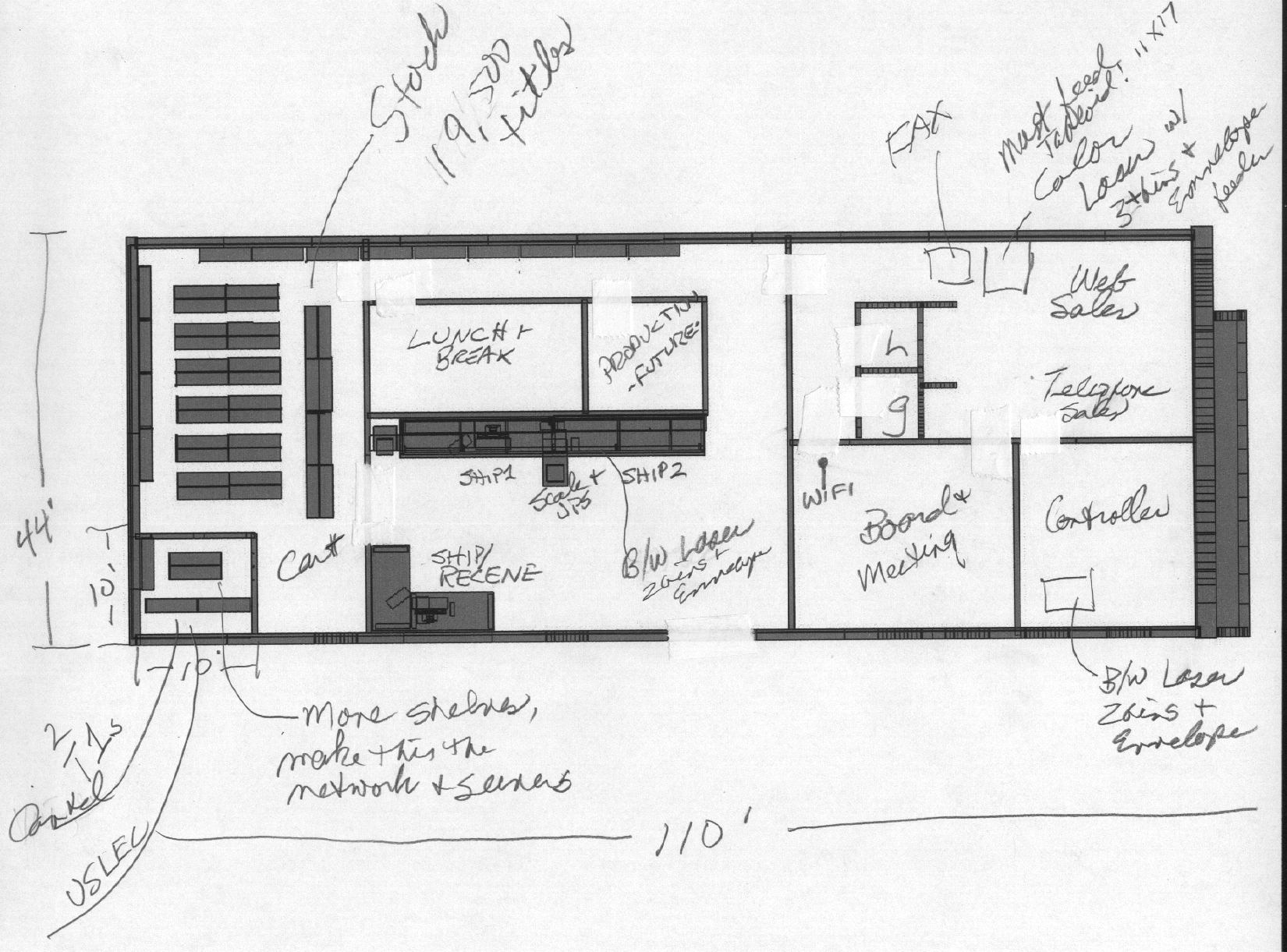 Lan Diagram And Bill Of Details