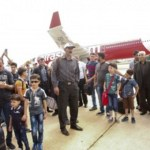 Syrian refugees arrive in Malaysia