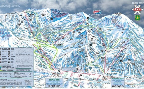 Crowds can get ridiculous and unnecessary given the area alternatives. Park City Utah Ski Resorts Map Sights Of Utah