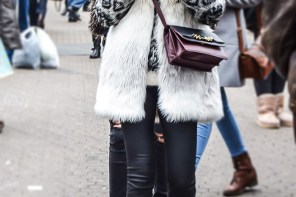 Chic Winter Outfit With a Faux Fur Gilet