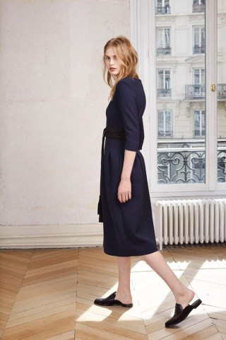 Maje Lookbook Fall Winter 2015 http://bit.ly/1QYEasO With Model Aneta Pajak by Peopleandstyles.com