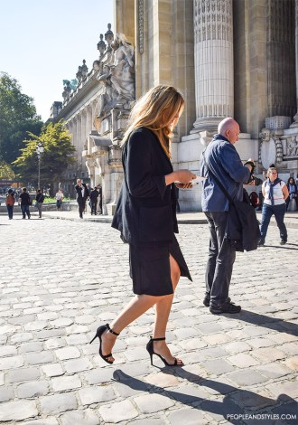Side Slit Skirts: Sexy Update to Your Wear to Work Look by PeopleandStyles.com