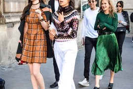 Street Style Look: Leandra Medine and Her Stylish Crowd