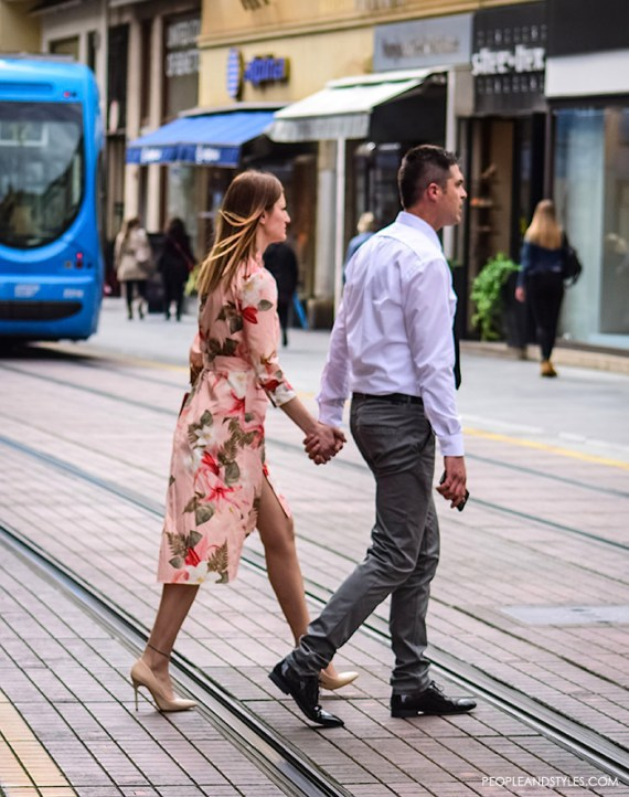 Couples, Summer Street Style in the City by PeopleandStyles.com