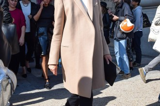 Neutral Color Coat - Always a Good Idea