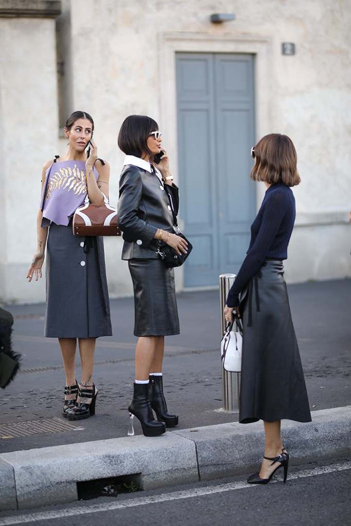 How to Wear Leather This Fall