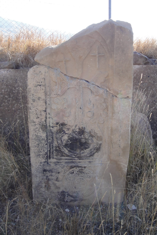 13th c. tombstone near village Bartsruni