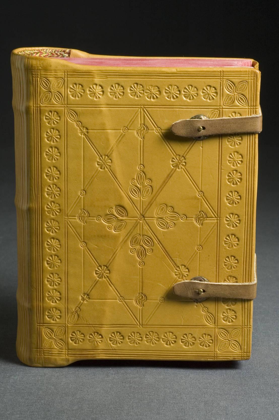 17th century Armenian binding