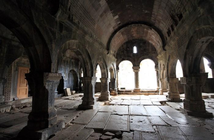 Interior of a medieval Armenian Church