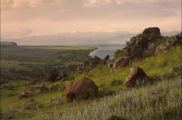 Stones of Lake Sevan, Armenia