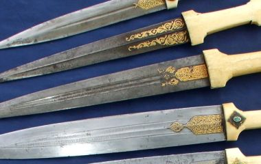A set of Armenian style daggers