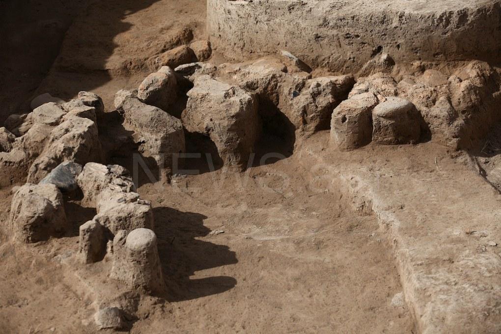 Aknashen neolithic site excavation