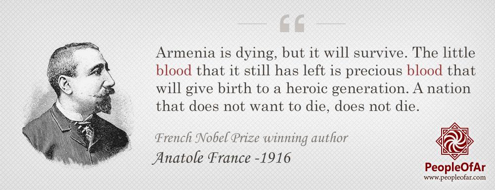 Anatole-France-quote-Armenia