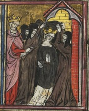 Arda visiting a monastery (1337 AD)