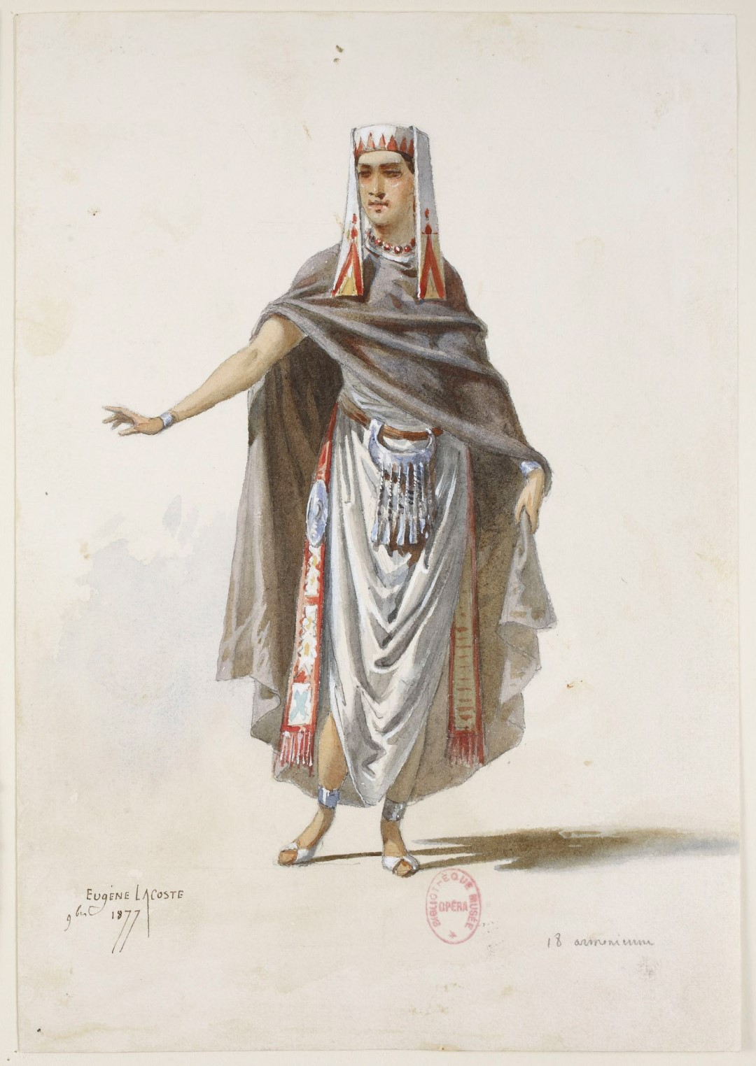 Armenian lady by Eugene Lacoste
