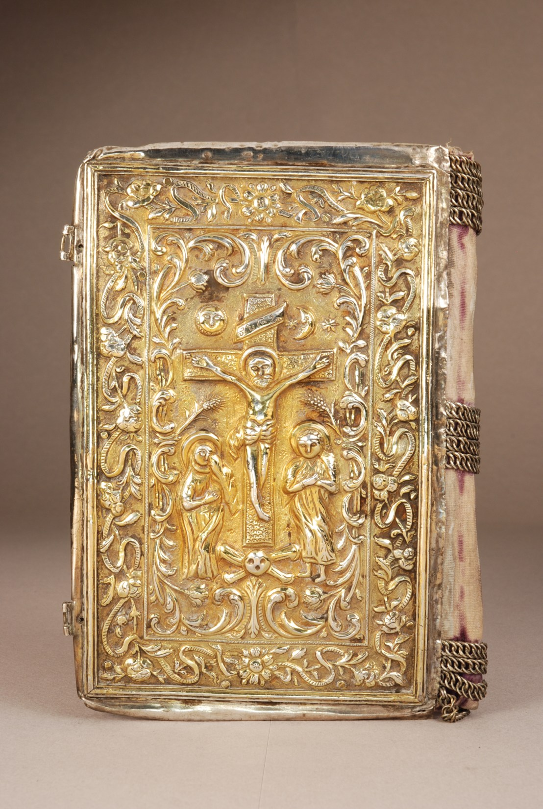 Armenian Gospel Book binding, 1828