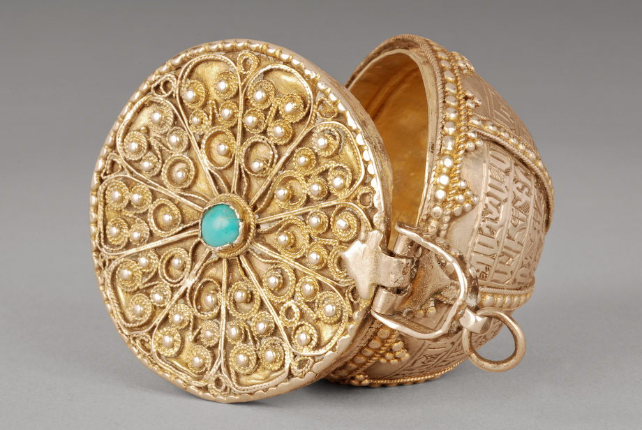 Armenian Jewelry box, 1751 - Armenian Museum of France