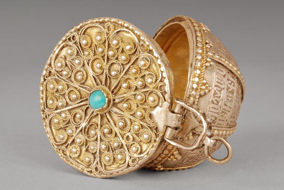 Armenian Jewelry box, 1751 - Armenian Museum of France