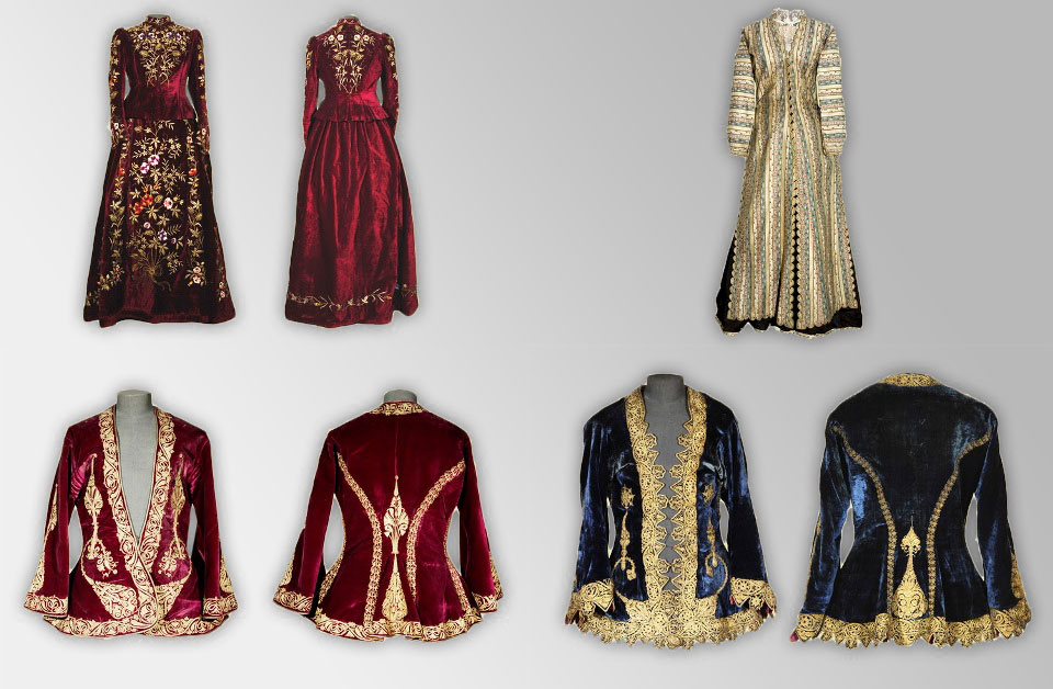 19th century costumes from Armenia. - History Museum of Armenia, Yerevan