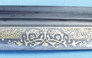 Armenian dagger dated-1841.