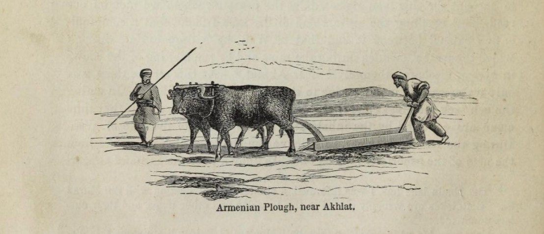 Armenian plough near Akhlat