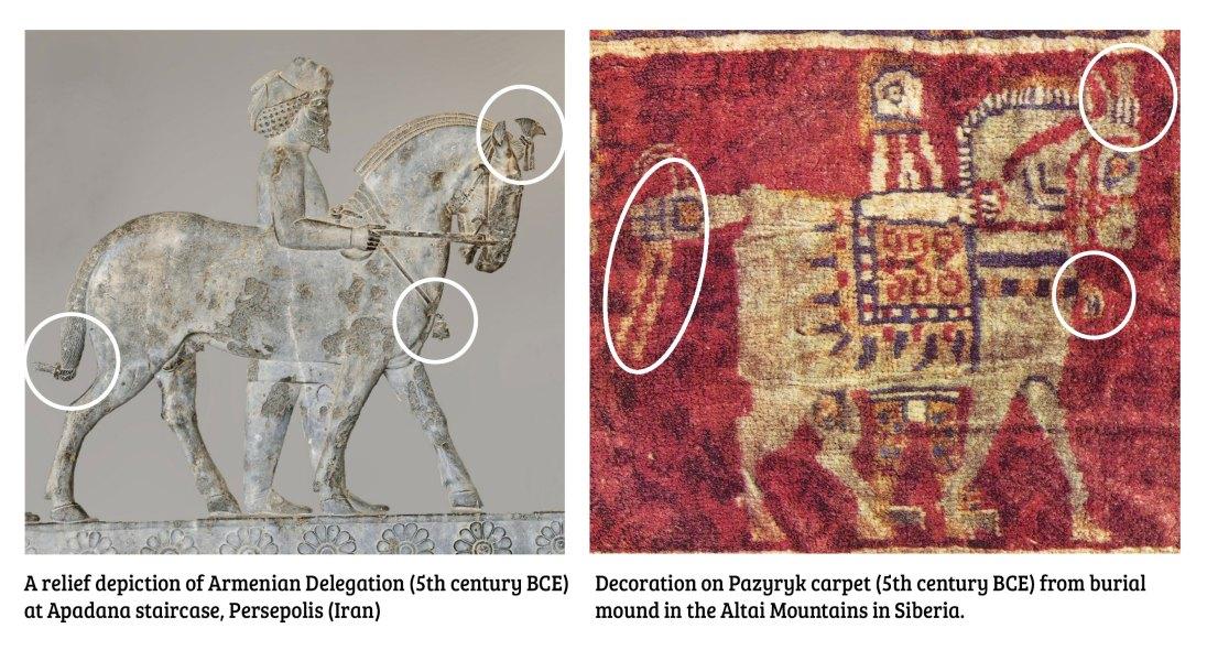 Armenians-at-Persepolis-pazyryk-comparison