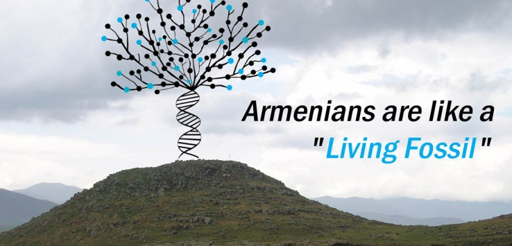 Armenians are a living fossil