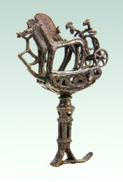 Bronze Age Chariot sculptures  from Armenia