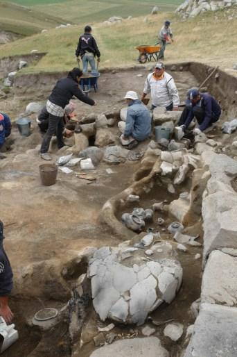 Bronze Age burial sight at Gegharot, Armenia