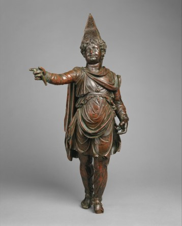 Bronze statuette of a boy in Armenian dress, 1st century B.C.
