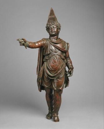 Bronze statuette of a boy in Armenian dress, 1st century B.C.
