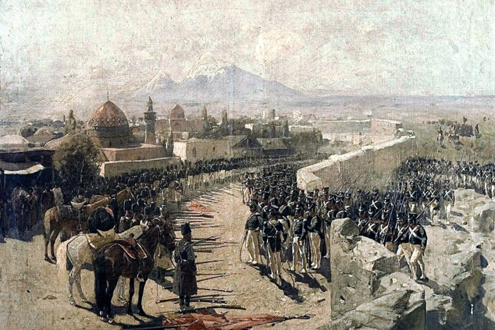 Capture_of_Erivan_Fortress_by_Russia,_1827_(by_Franz_Roubaud)