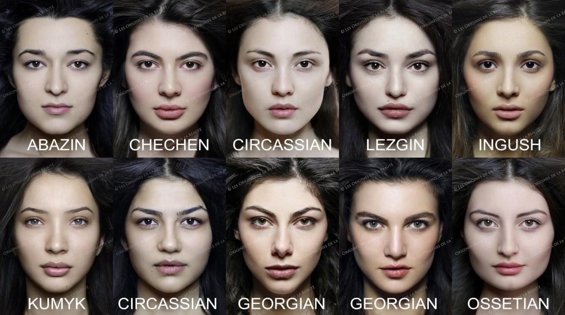 Caucasian-faces