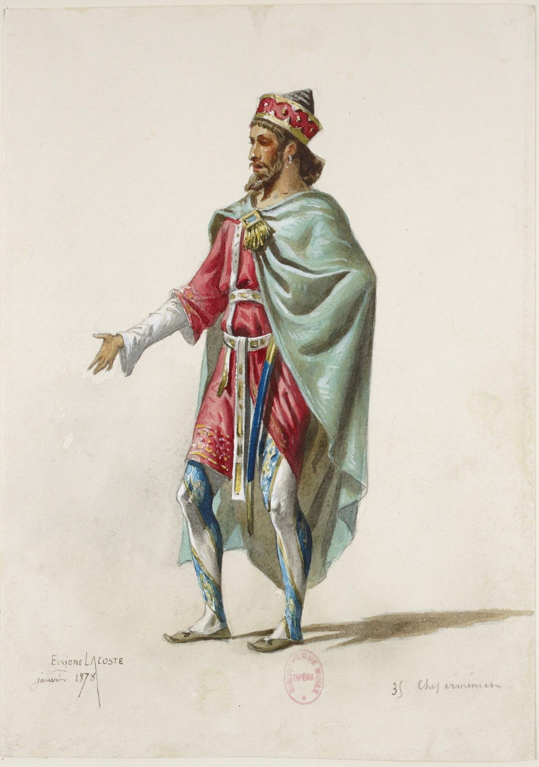 Armenian Chief by Eugene Lacoste