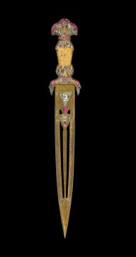 Dagger from the Jeweled gun of Sultan Mahmud I by Hovhannes Agha Duz