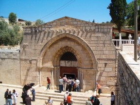 Morphia's burial place the Abbey of St. Mary of the Valley of Jehoshaphat