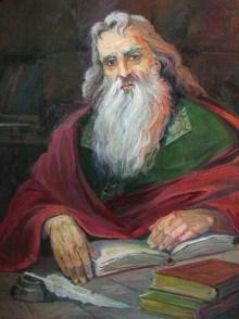 Movses Khorenatsi by Gevorg Avagyan (1922-2013)