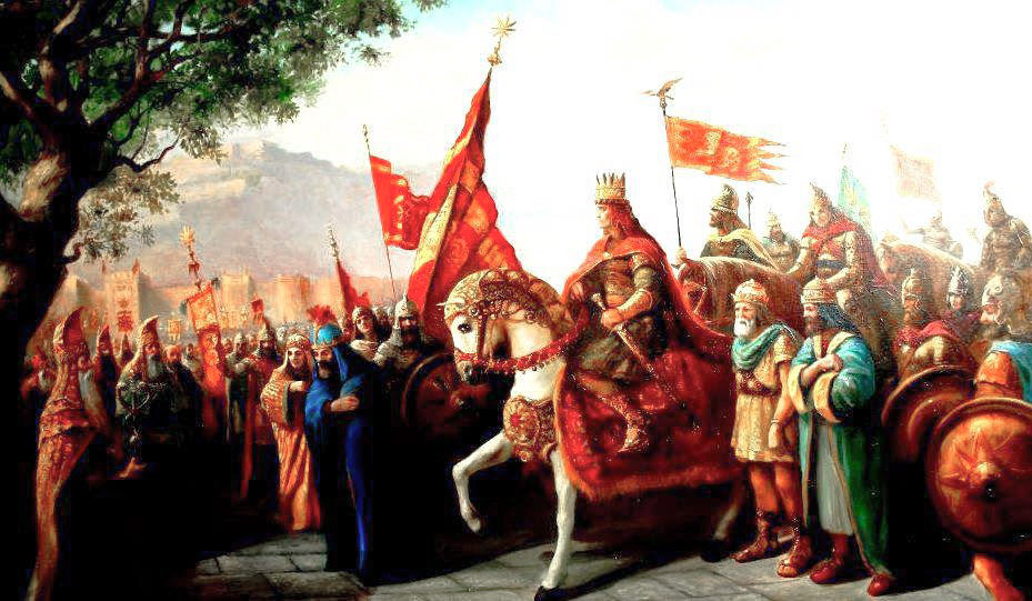 Painting of Tigranes the Great