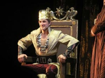 Picture from a play about Tigranes the Great